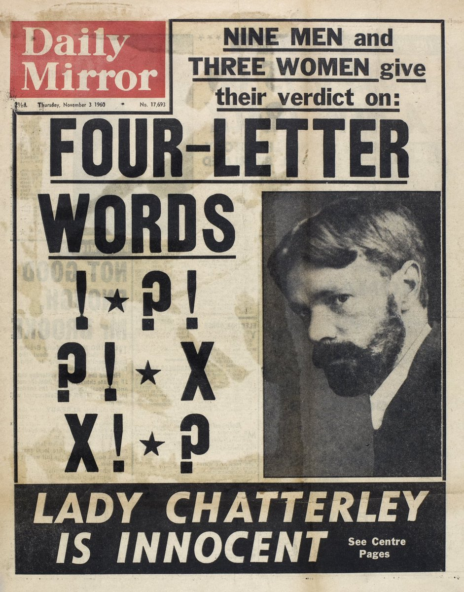 Ladey Chatterley - Daily Mirror