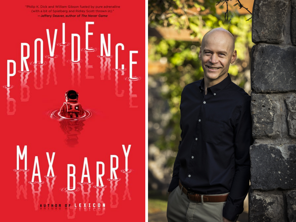 Image of Providence and author Max Barry