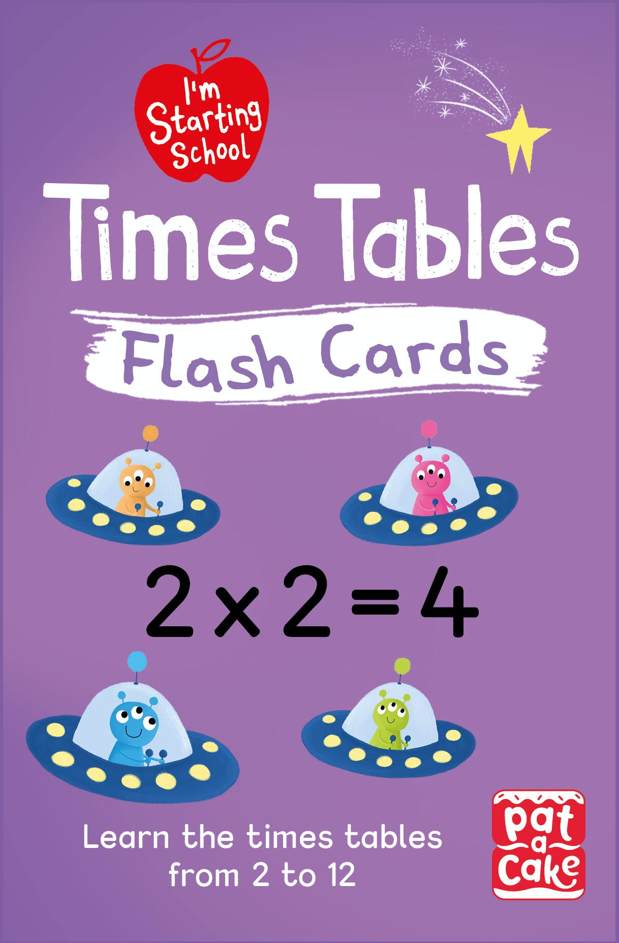 I'm Starting School: Times Tables Flash Cards from Pat-a-Cake